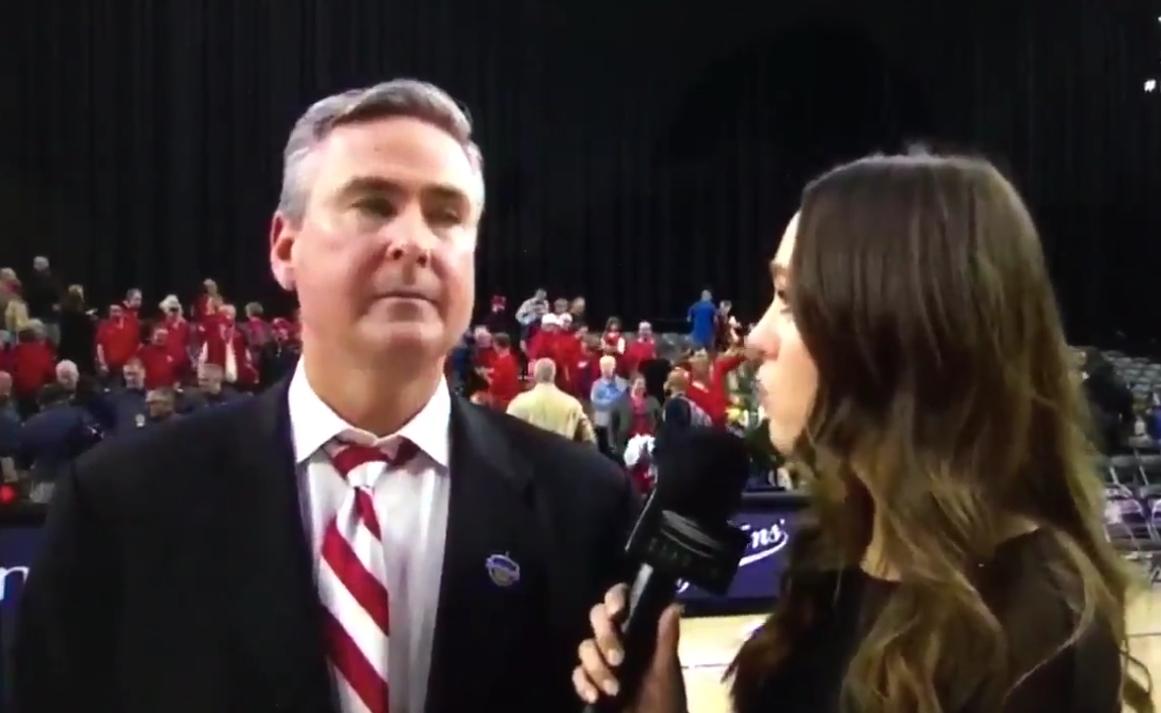 "Western Kentucky Head Coach Rick Stansbury Called a Female Reporter ""Honey"""