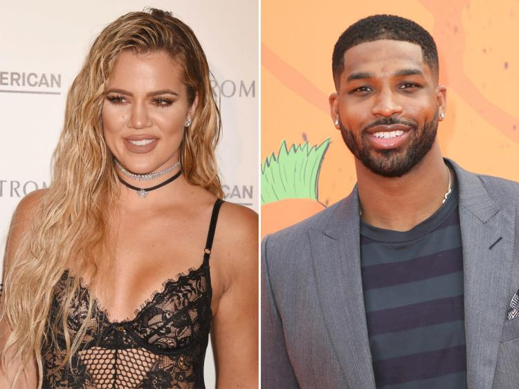 Tristan Thompson Gets in on the Cradling Crazed Khloe Kardashian