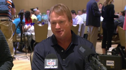 Jon Gruden Wants to Eliminate Instant Replay