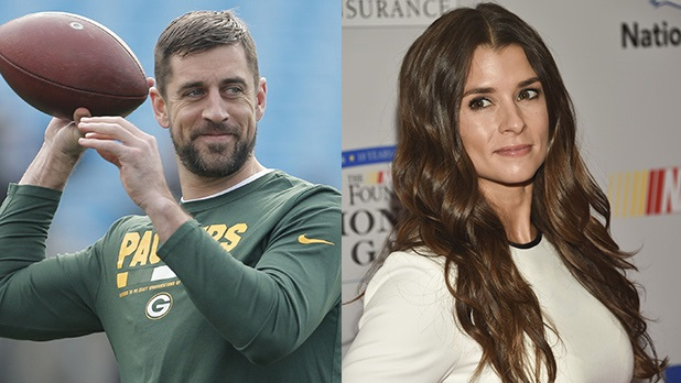 Aaron Rodgers and Danica Spotted Making out in a Clothing Store