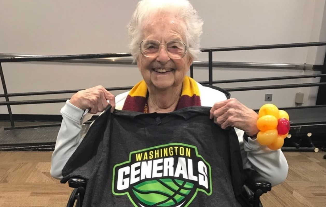 The Washington Generals Offered Sister Jean a Job