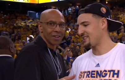 Klay Thompson's Father Dishes Out Advice About Women to Klay