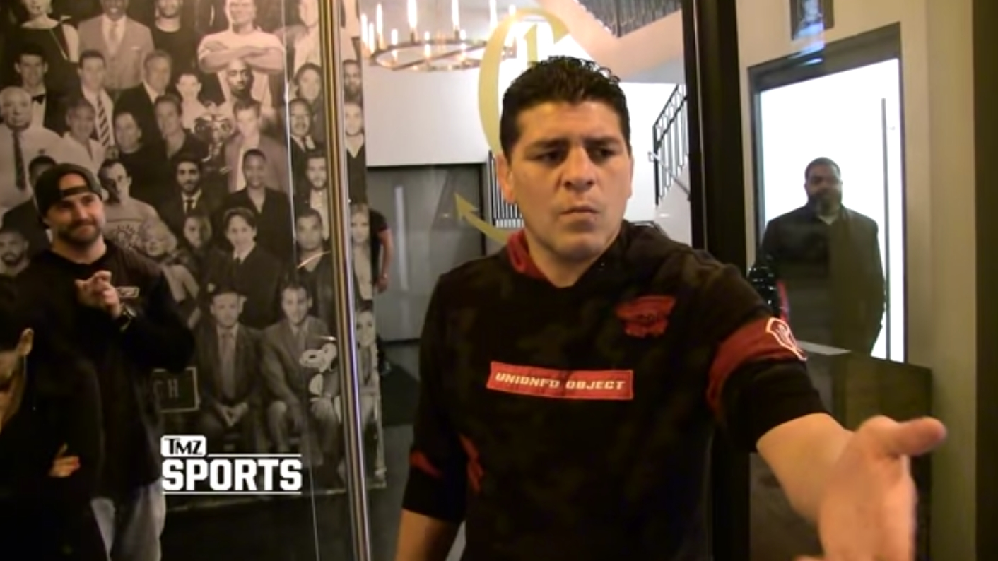 Nick Diaz Says He Was Poisoned Ahead of His 2013 Fight with Georges St. Pierre