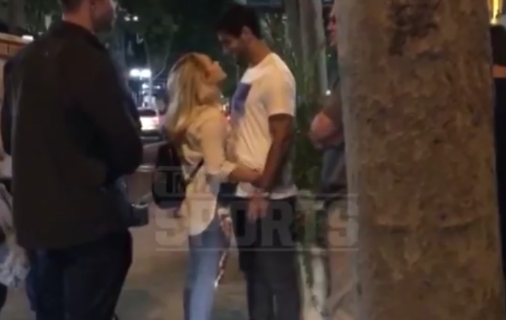 Jimmy Garoppolo Spotted Outside of a San Jose Bar with a Blonde