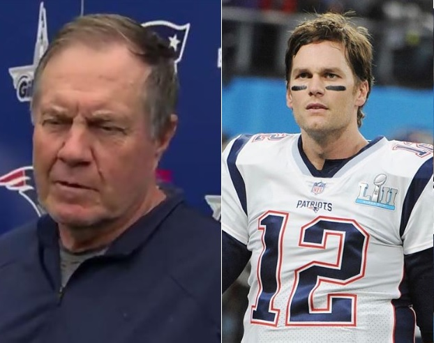 Bill Belichick Refuses to Answer Question about Tom Brady