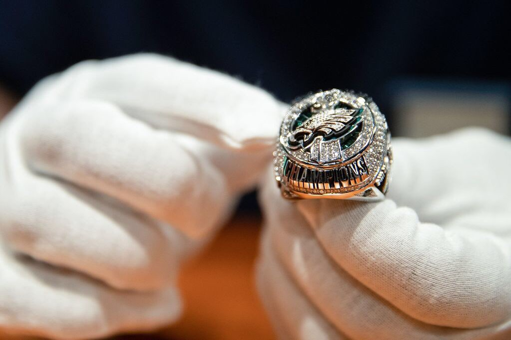 The Philadelphia Eagles Received Their Super Bowl Rings