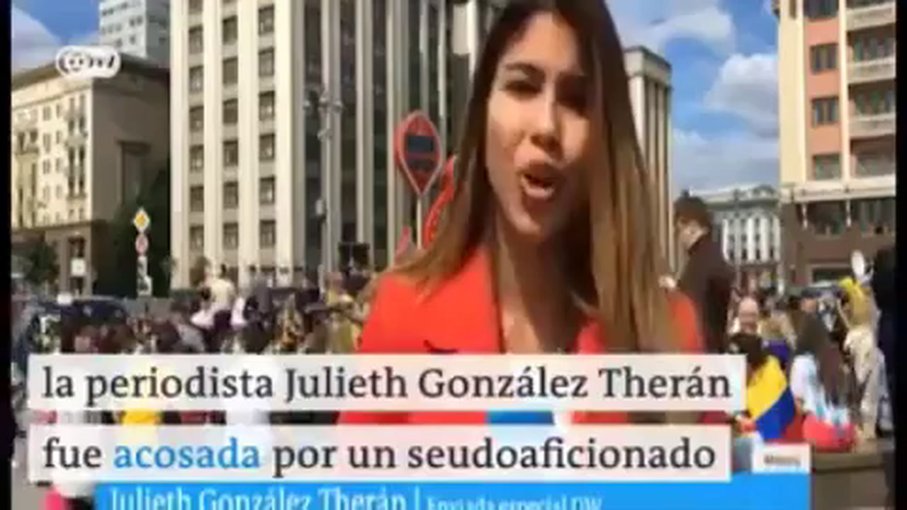 Colombian reporter Julieth Gonzalez Theran Groped During World Cup Coverage