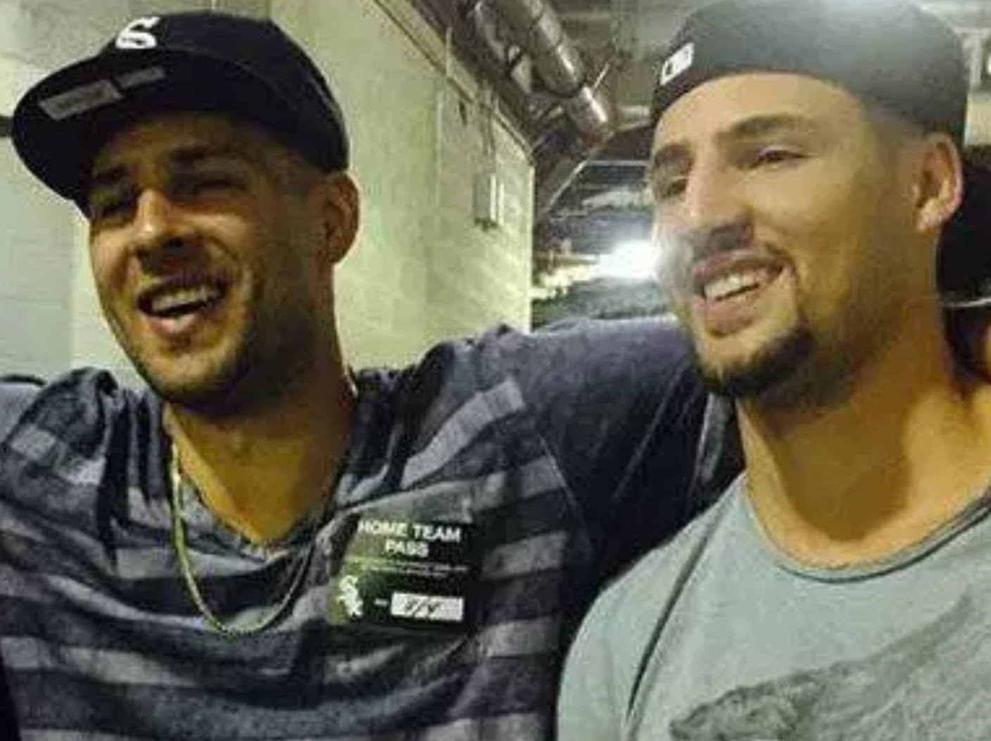Klay Thompson and His Friends Played a Little Night Softball in Cabo with Some Hotties