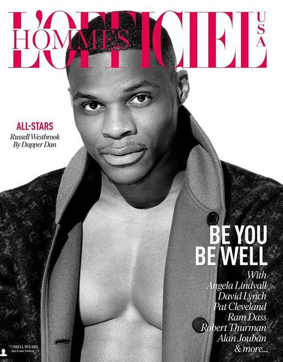 Russell Westbrook Covers L'Officiel Hommes' Wellness Issue