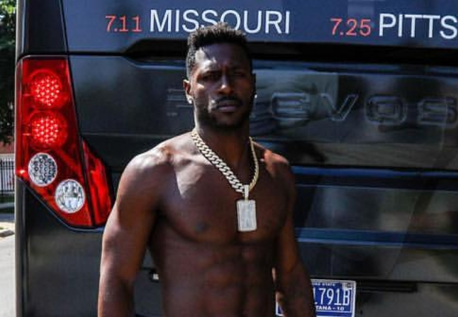 Antonio Brown Dropped $200k on a Necklace for His Birthday