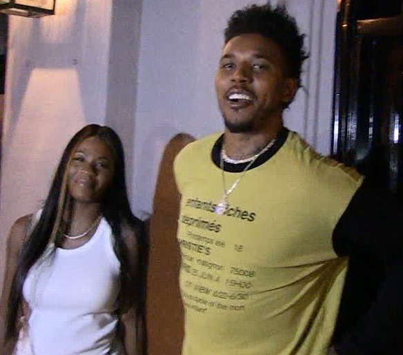 Swaggy P and Keonna Green Enjoy a Dinner at Craig's