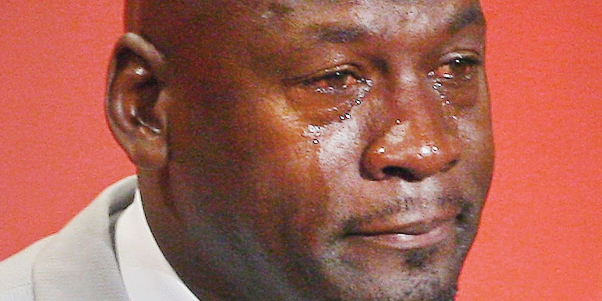 Someone Actually Got the Crying Jordan Meme Tattoo