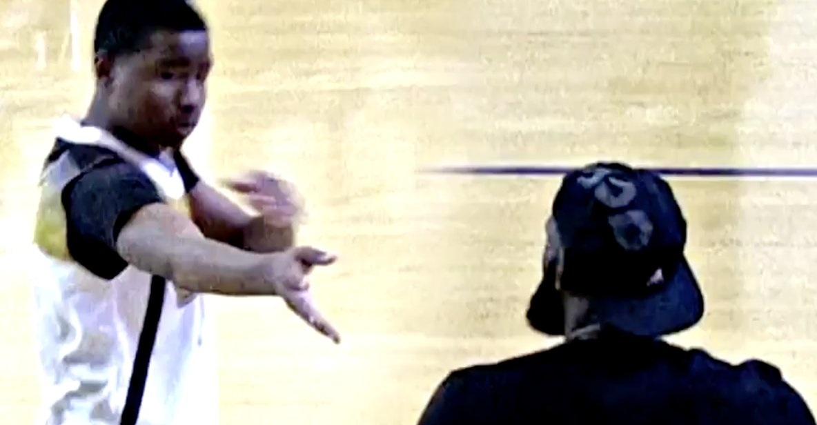 LeBron's Son's Opponent Shoots Arrow at LeBron James