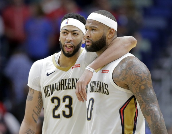 Anthony Davis Says DeMarcus Cousins 'Went From a Teammate to an Enemy'