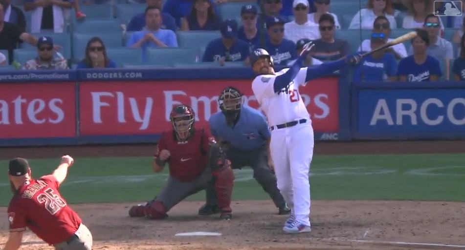 Matt Kemp Puts the Dodgers in First Place with a 2-Run Walk-off Double