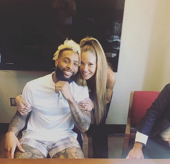 Odell Beckham Jr.'s Mother Heather Van Norman Reveals the New OBJ Shoe