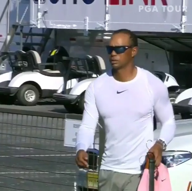 Tiger Woods Makes Another Grand Entrance at 2018 Tour Championship