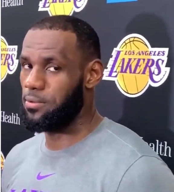 LeBron James Gets Chippy When Asked about Lil Wayne 'Back in the Game'