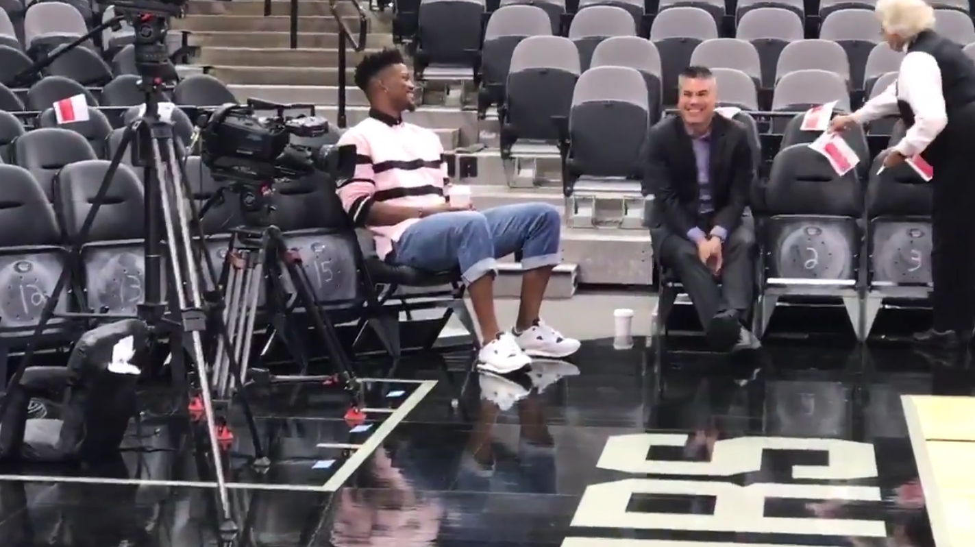 Jimmy Butler Showed Up for the Timberwolves Opener by Himself