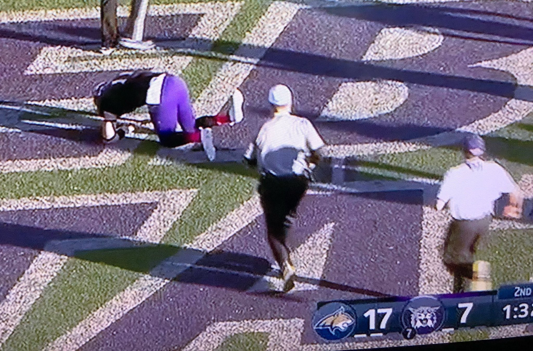 Weber State QB Suffered a Severely Broken Ankle and Told the Doctors to Tape it Up So He Could Go Back In