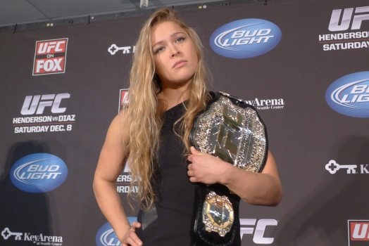 Leaked Footage of Ronda Rousey training for the WWE hit the Internet