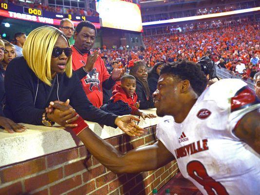 Lamar Jackson Chooses His Mom to Rep Him at NFL Draft