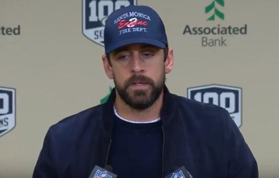 Aaron Rodgers Donating $1 million for California Wildfire Victims