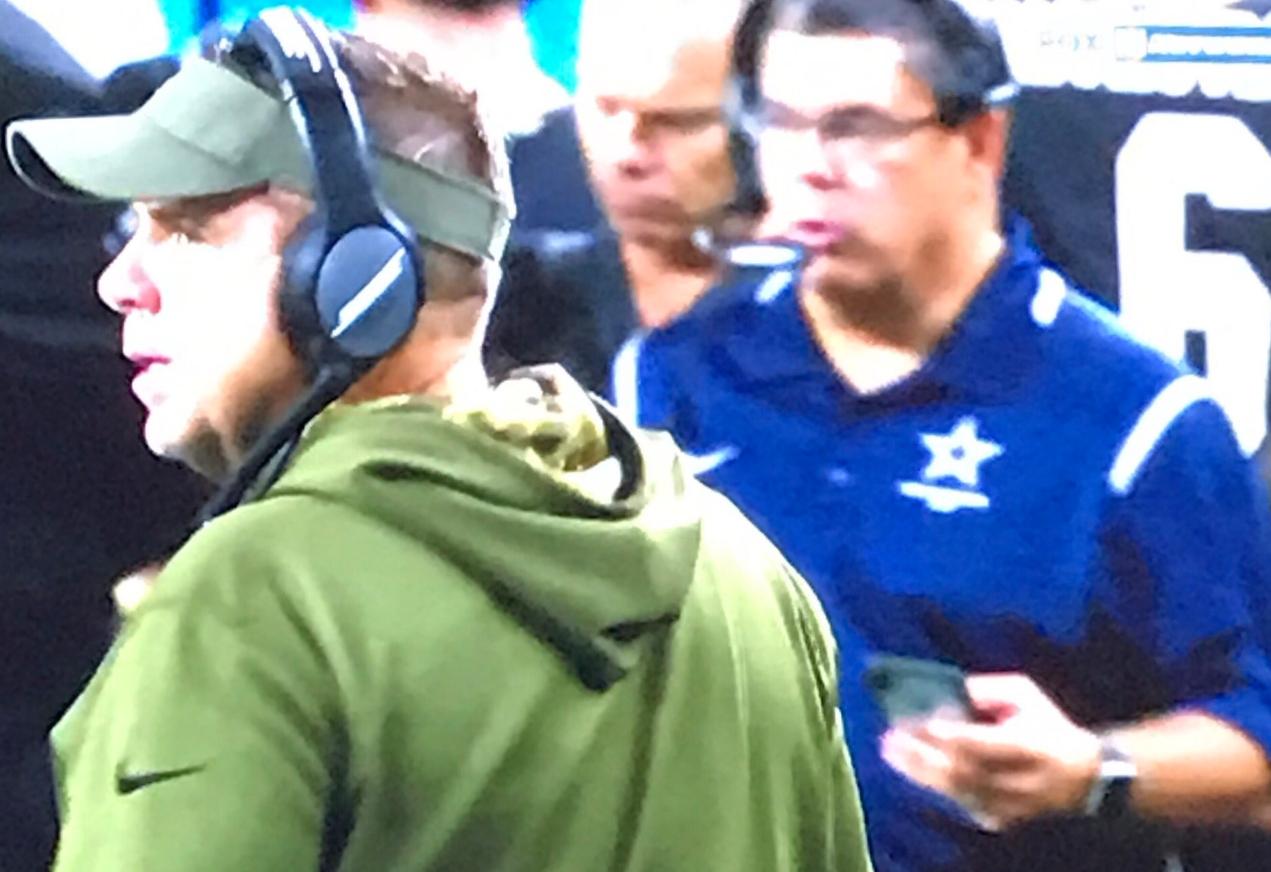 Cowboys Address Mystery Man on the Saints' Sideline