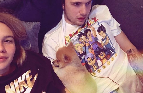 Luka Doncic Spent Christmas with Girlfriend Anamaria Goltes Playing Fortnite