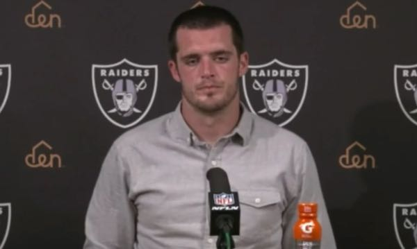 New Raiders GM Mike Mayock Refuses to Say Derek Carr Will Remain the Team's Quarterback