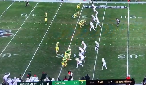 Oregon Ran One of the Worst Fake Punts in the History of Football