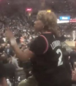 Kawhi Leonard's Mom Spotted Arguing with a Spurs Fan in San Antonio