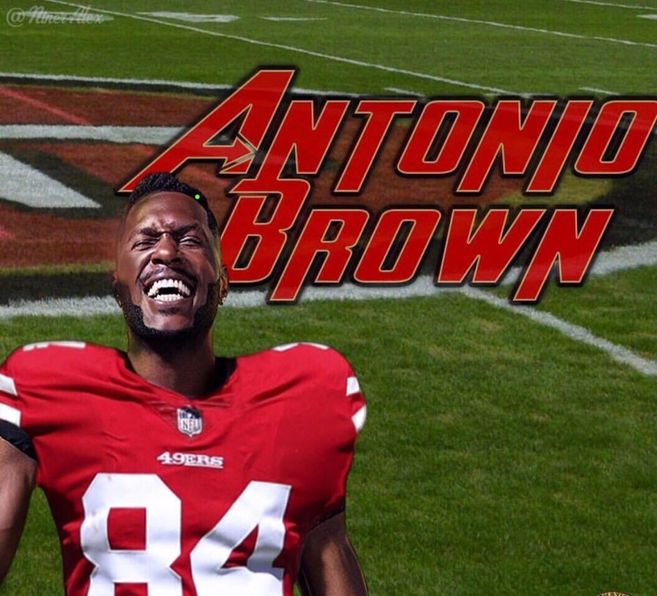 Antonio Brown Keeps Fueling 49ers Rumors with Latest Follow and Likes