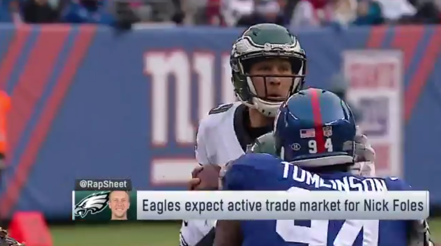 Eagles Expect to Cash In on Nick Foles in the Off-Season