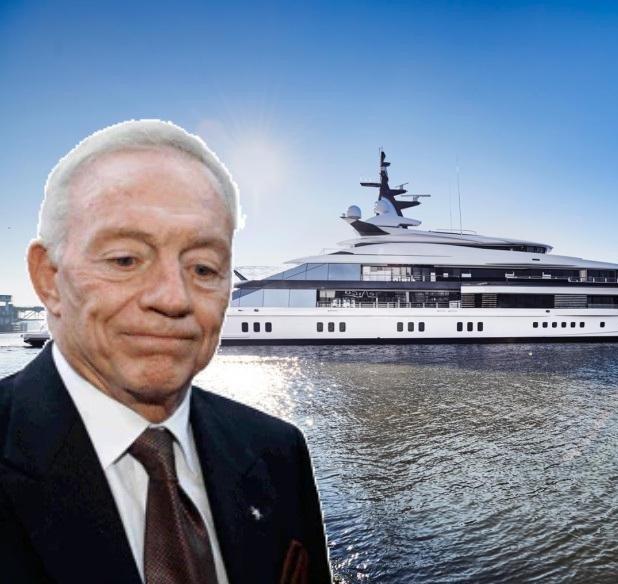 Check out Jerry Jones' $250 million Yacht Bravo Eugenia