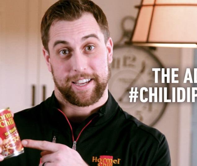 Adam Thielen Announces 'Show us Your Chili Dip Touchdown Dance' Contest