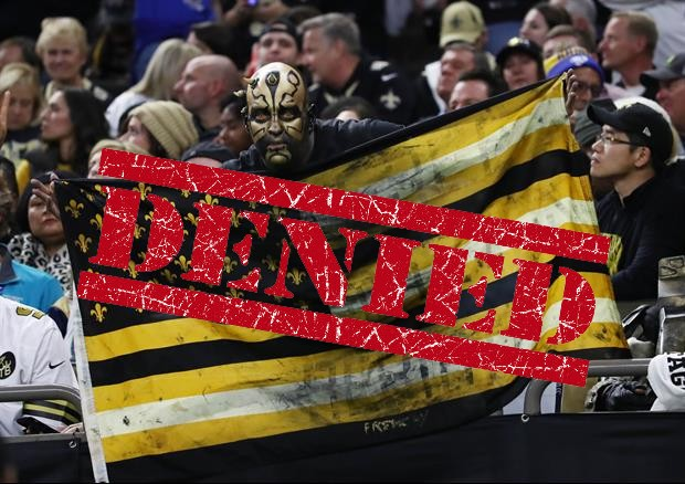 Saints Fan Lawsuit Over NFC Championship Game Gets Denied By Judge