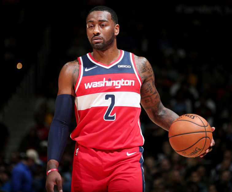 John Wall Slipped and Fell in His house and Will be out 12 months