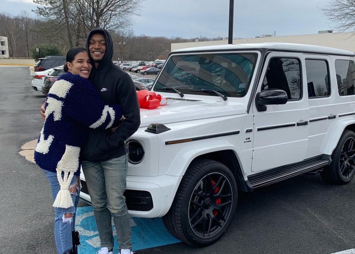 Wizards Guard Bradley Beal Gifted His Baby Momma Kamiah Adams a Mercedes g63 for Valentine's Day
