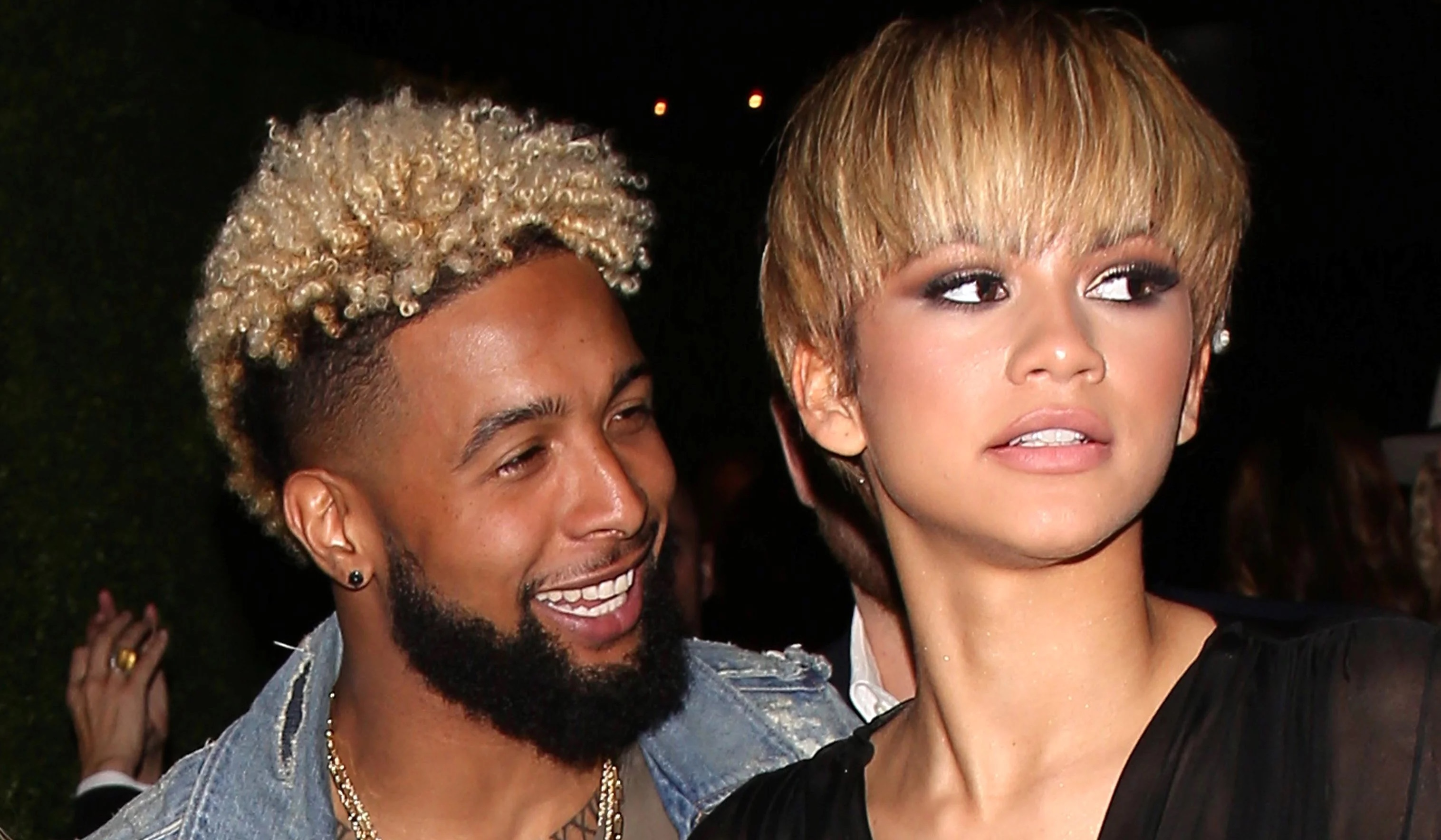 Zendaya Runs Into Odell Beckham Jr. in France