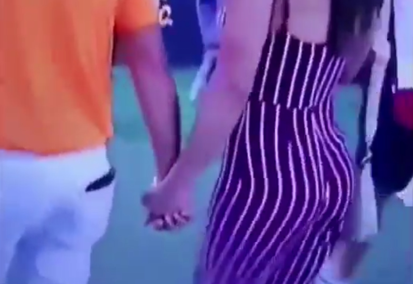 Cameraman at Honda Classic Made Sure to Get a Closeup of Ricky Fowler's Fiancee Allison Stokke's Butt