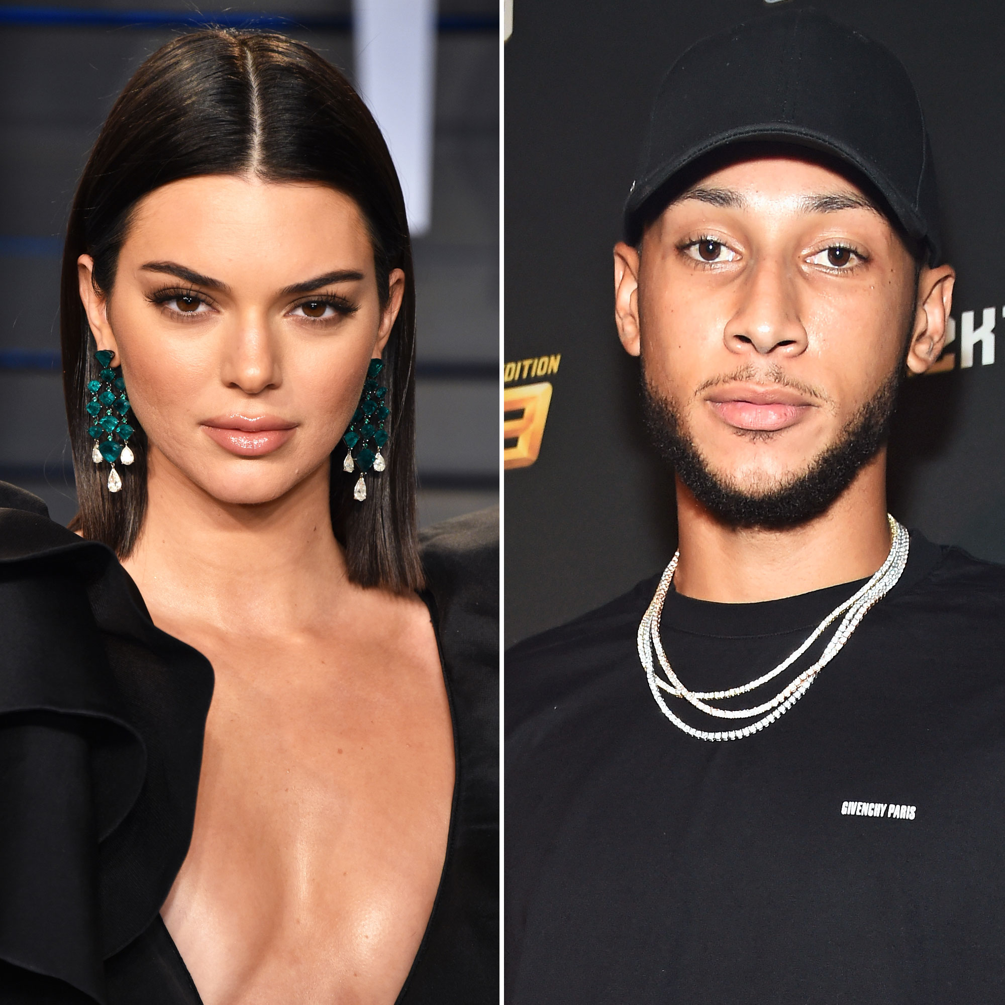 Ben Simmons and Kendall Jenner Spend a Night at Ben's in Philly