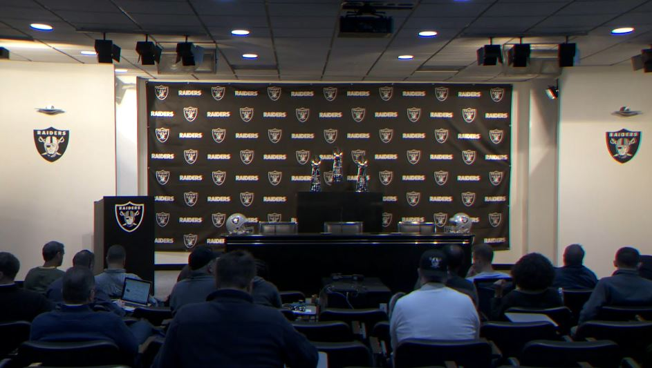 Antonio Brown Ran Late to his Raiders Introductory Press Conference